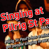 Singing at Pilrig St Pauls