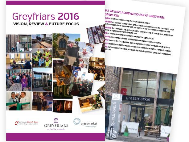 Greyfriars Kirk Brochure
